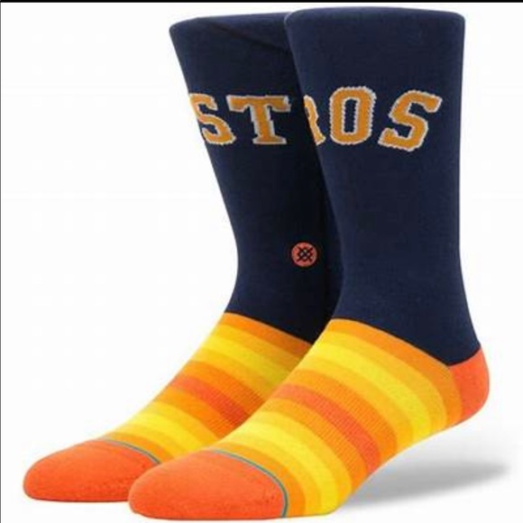Stance Houston Astros Socks - NWT